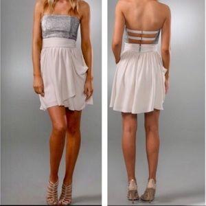 ALICE+OLIVIA 'Maggie' sequined bodice dress